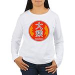 Mahayana In Chinese Women's Long Sleeve T-Shirt