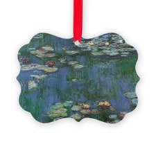 Waterlilies by Claude Monet Picture Ornament