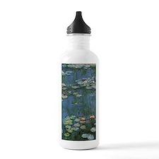 Waterlilies by Claude Sports Water Bottle