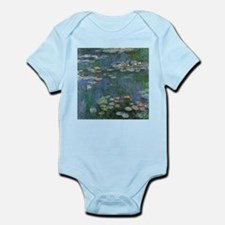 Waterlilies by Claude Monet Body Suit