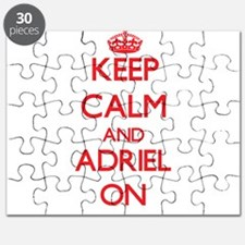 Keep Calm and Adriel ON Puzzle