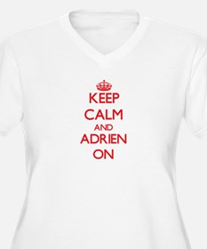 Keep Calm and Adrien ON Plus Size T-Shirt