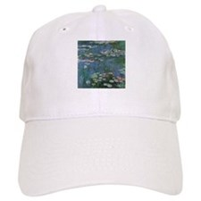 Waterlilies by Claude Monet Baseball Cap