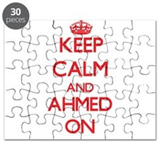 Keep Calm and Ahmed ON Puzzle