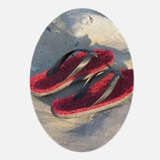 Gulf Shores sandals Oval Ornament