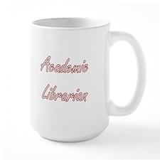 Academic Librarian Artistic Job Design Mugs
