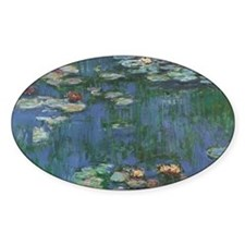 Waterlilies by Claude Monet Decal