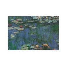 Waterlilies by Claude Monet Magnets