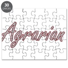 Agrarian Artistic Job Design Puzzle