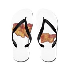 Cooked Bacon Flip Flops