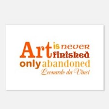 Unfinished Art Postcards (Package of 8)