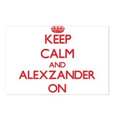 Keep Calm and Alexzander Postcards (Package of 8)