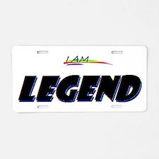 I AM LEGEND Aluminum License Plate