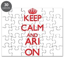 Keep Calm and Ari ON Puzzle