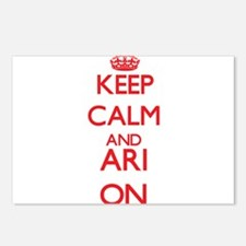 Keep Calm and Ari ON Postcards (Package of 8)