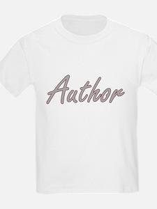 Author Artistic Job Design T-Shirt