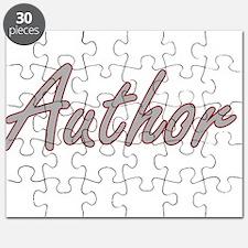 Author Artistic Job Design Puzzle