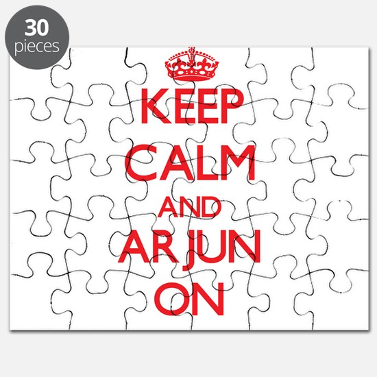 Keep Calm and Arjun ON Puzzle