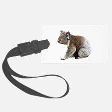 Aussie Koala Bear Cutout Photo Luggage Tag