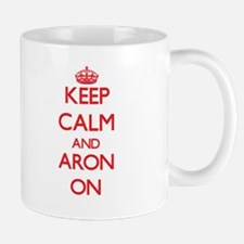 Keep Calm and Aron ON Mugs