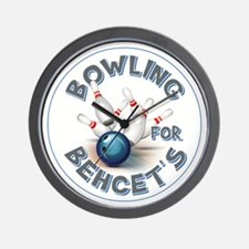 BOWLING FOR... Wall Clock