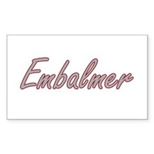 Embalmer Artistic Job Design Decal