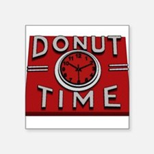 Donut Time Sticker