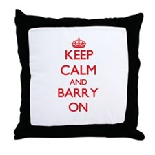 Keep Calm and Barry ON Throw Pillow