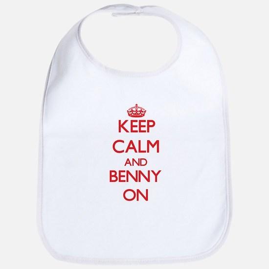Keep Calm and Benny ON Bib