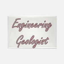 Engineering Geologist Artistic Job Design Magnets