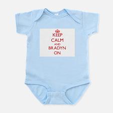 Keep Calm and Bradyn ON Body Suit