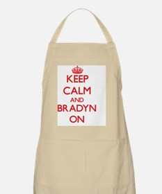 Keep Calm and Bradyn ON Apron