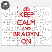 Keep Calm and Bradyn ON Puzzle