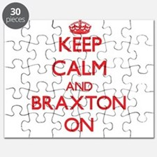 Keep Calm and Braxton ON Puzzle