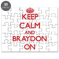Keep Calm and Braydon ON Puzzle