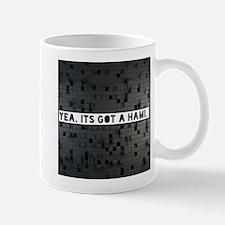 yes its got a hami Mugs