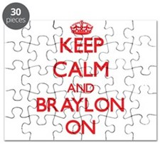 Keep Calm and Braylon ON Puzzle
