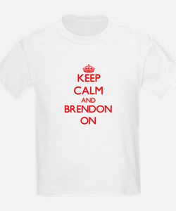 Keep Calm and Brendon ON T-Shirt