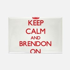 Keep Calm and Brendon ON Magnets