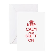 Keep Calm and Brett ON Greeting Cards