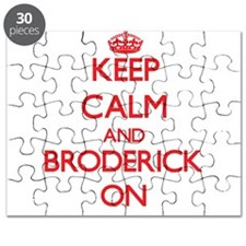 Keep Calm and Broderick ON Puzzle