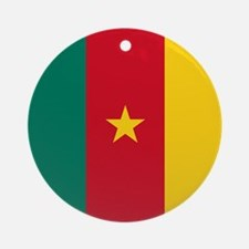 Flag of Cameroon Ornament (Round)