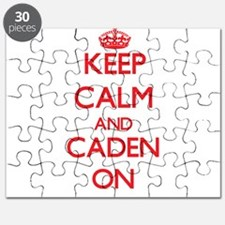 Keep Calm and Caden ON Puzzle