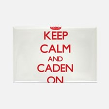 Keep Calm and Caden ON Magnets