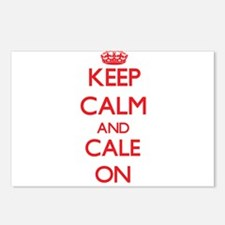 Keep Calm and Cale ON Postcards (Package of 8)