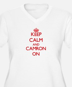 Keep Calm and Camron ON Plus Size T-Shirt