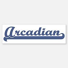 Arcadian (sport) Bumper Bumper Bumper Sticker