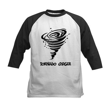 Tornado Chaser Kids Baseball Jersey