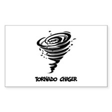 Tornado Chaser Rectangle Decal