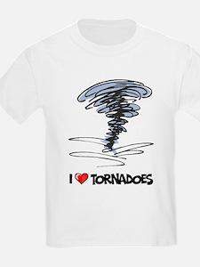 I Love Tornado T-Shirt